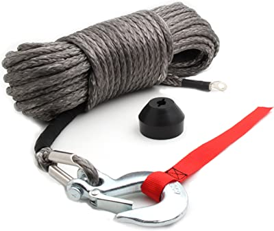 Offroading Synthetic Winch Rope Kit