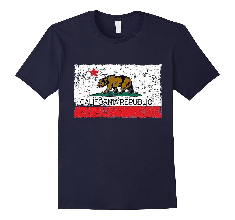 Vintage California Republic T-shirt Cali Life I Love CA-BN