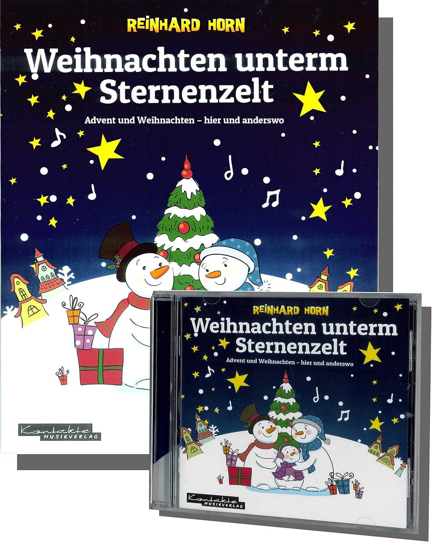 WEIHNACHTEN unterm STERNENZELT - LIEDERHEFT INKLUSIVE: Amazon.de ...