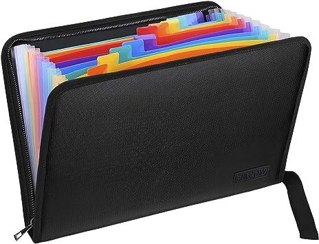 Expanding A4 File Folder Accordion Portfolio Organizer 12 24 37 48 Pockets