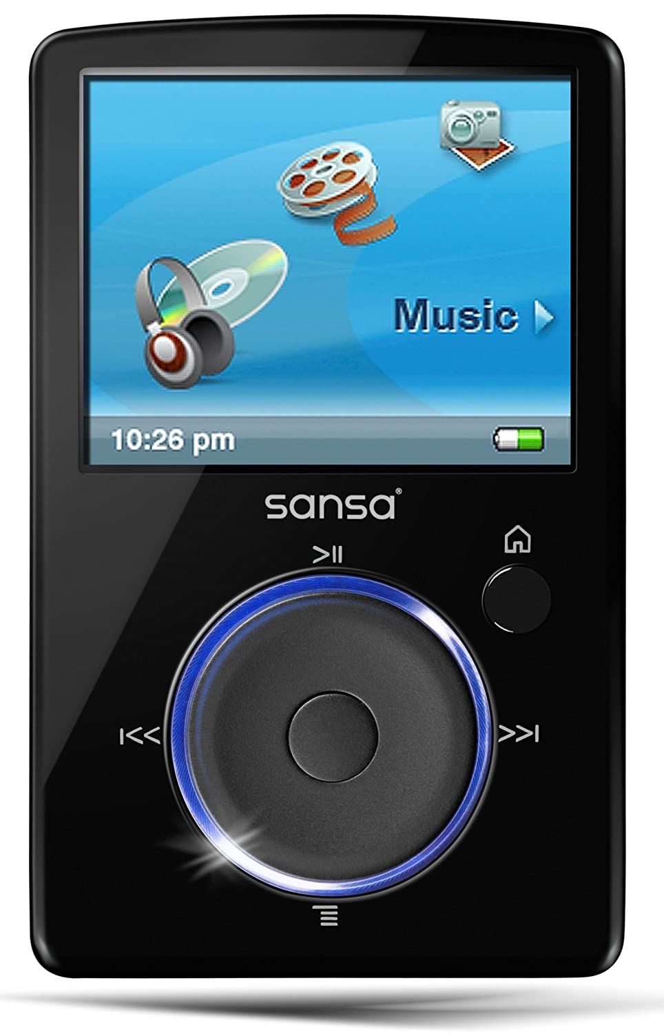 amazon com sandisk sansa fuze 2 gb video mp3 player black home rh amazon com  sandisk sansa clip sport mp3 player manual