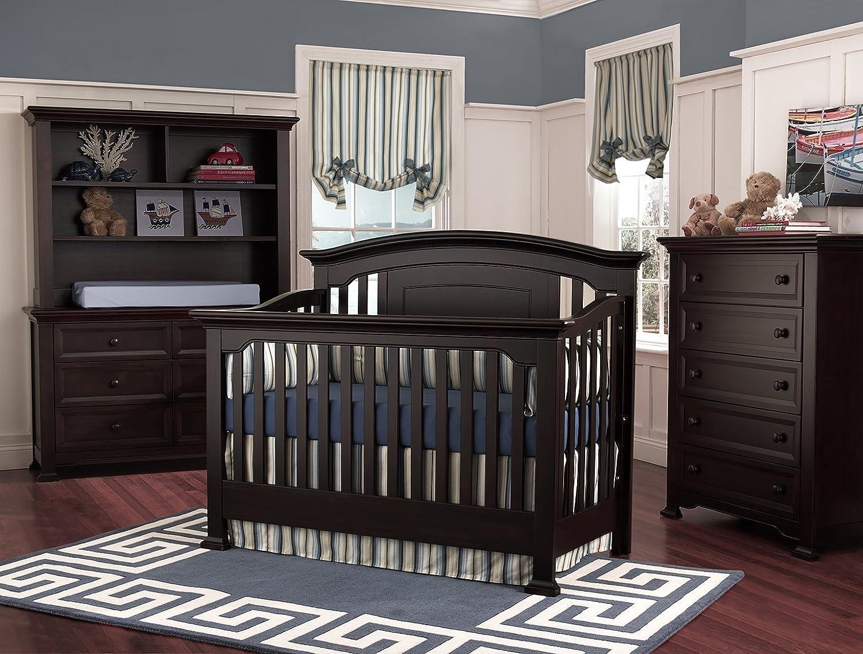 Amazon.com : Centennial Medford Full Bed Conversion Kit  Espresso : Nursery  Bed Rails : Baby