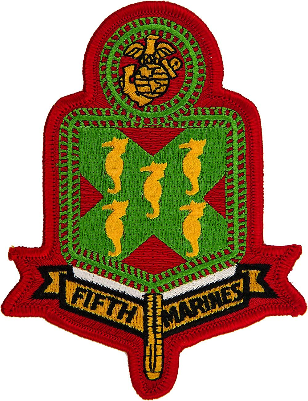 5th Marines Regiment Patch Full Color