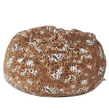 Ordinaire Big Furry Bean Bag Chair Glam Large Plush Faux Fur Beanless Bag Chair Comfy  Dorm Chairs