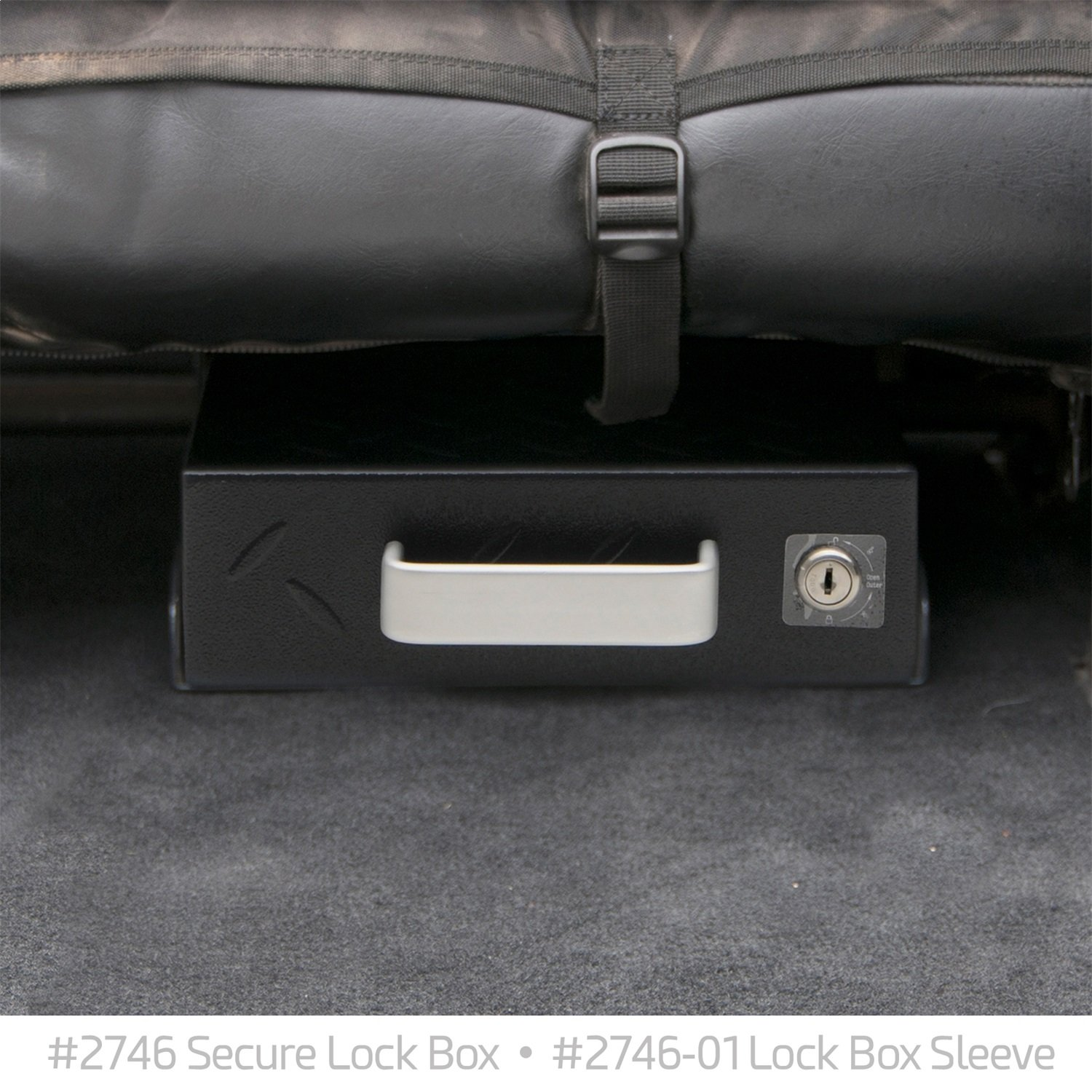 Grey Smittybilt 2746 Universal Secure Lock Box