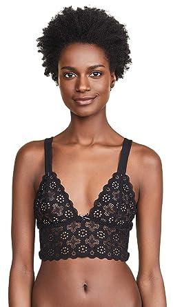 171469e213bae Fleur du Mal Women s Crochet Lace Triangle Bra at Amazon Women s ...