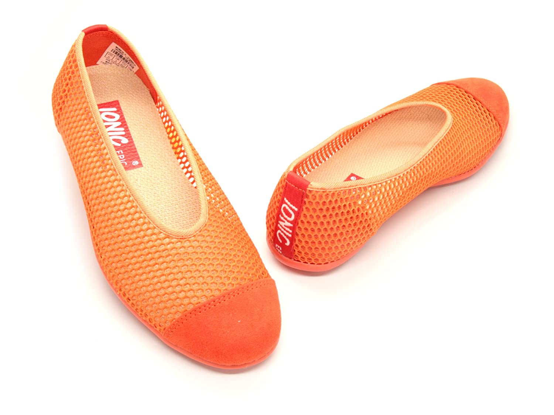 IONIC EPIC simply FABRIC footwear Women's Summer B00IEJ8NNA 5 B(M) US Orange
