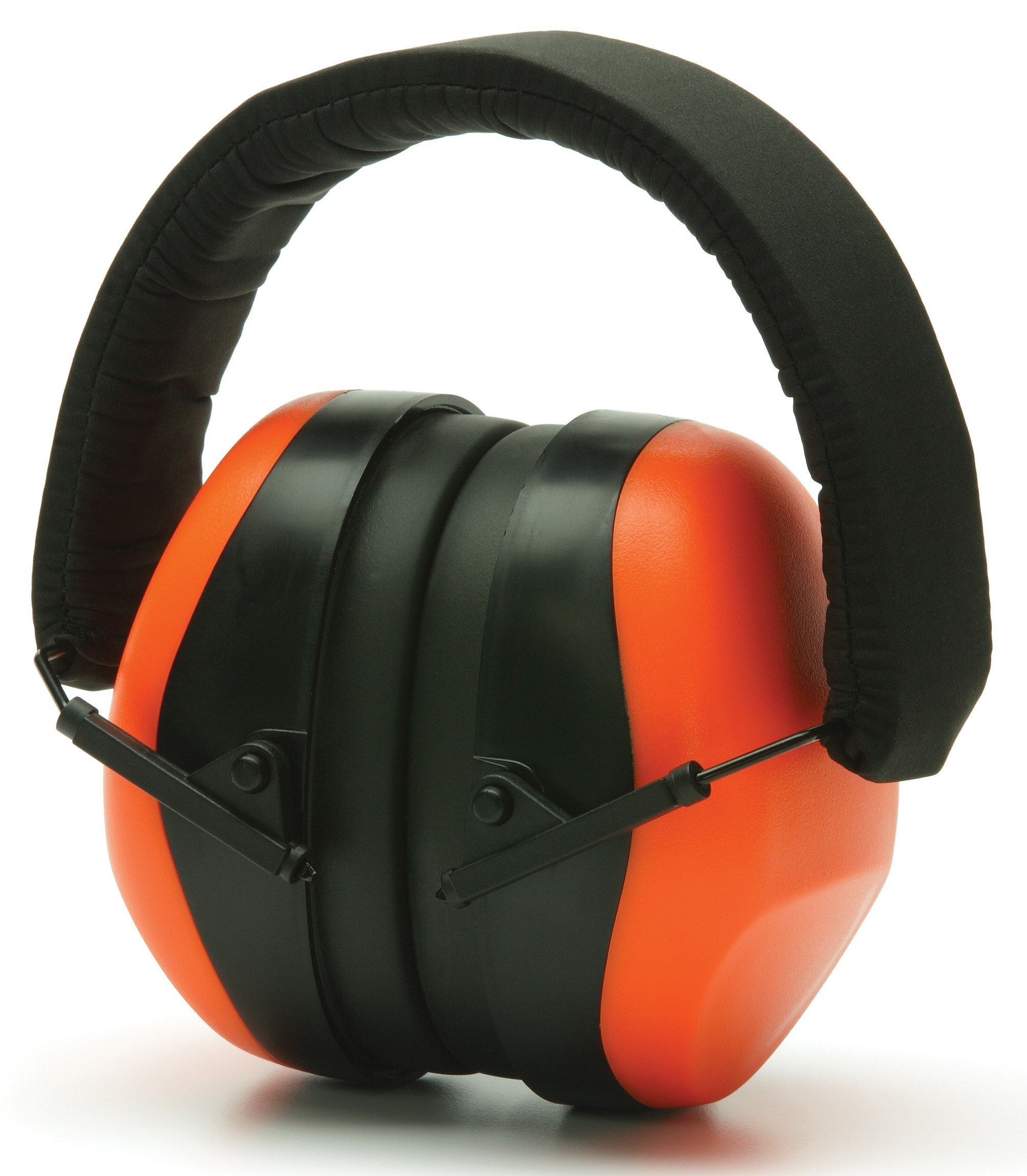 Pyramex PM80 Series Ear Muff NRR26dB, Individually-Packaged, High-Vis Orange