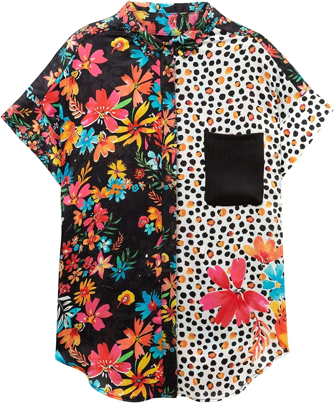 Desigual 19SWCW94 Camisa Mujeres M: Amazon.es: Ropa y accesorios