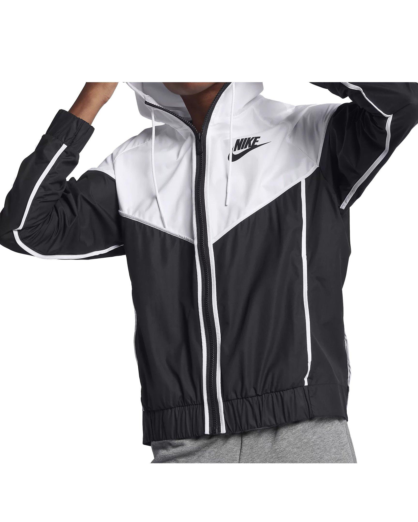 Nike Womens Windrunner Track Jacket Black/White 883495-011 Size X-Small
