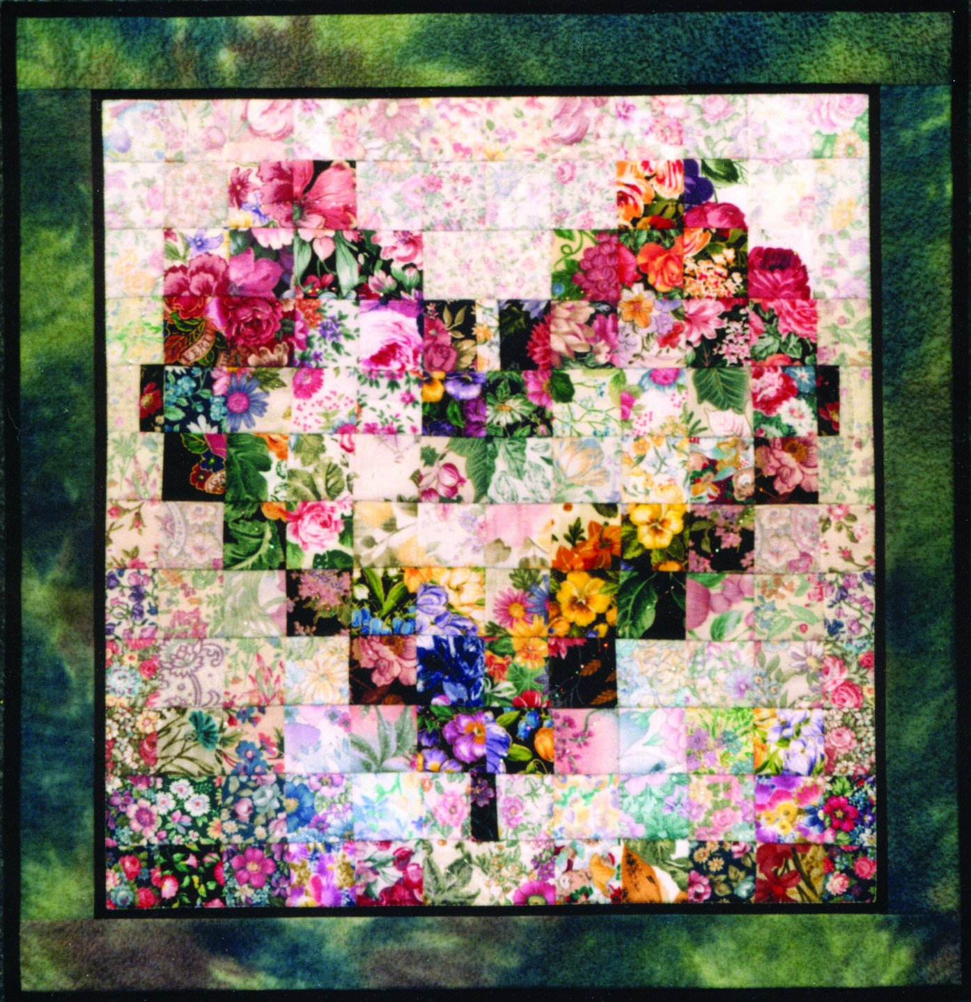 Amazon.com: Whims Watercolor Quilt Kits Heart In Bloom Quilting ... : quilts kits - Adamdwight.com