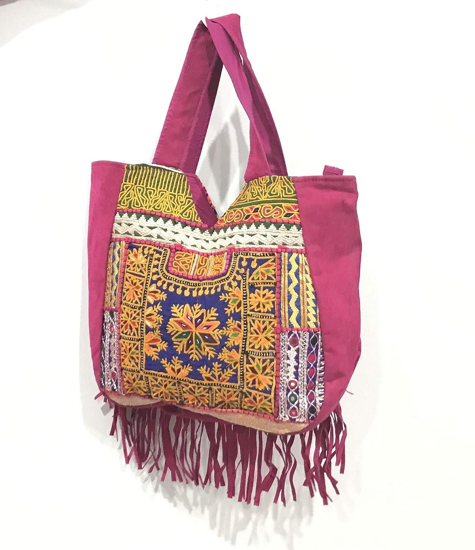 Christmas gift,Indian antique bag Antique khambalia work Jhola bag Banjara patchwork embroidery tote bag Free shipping