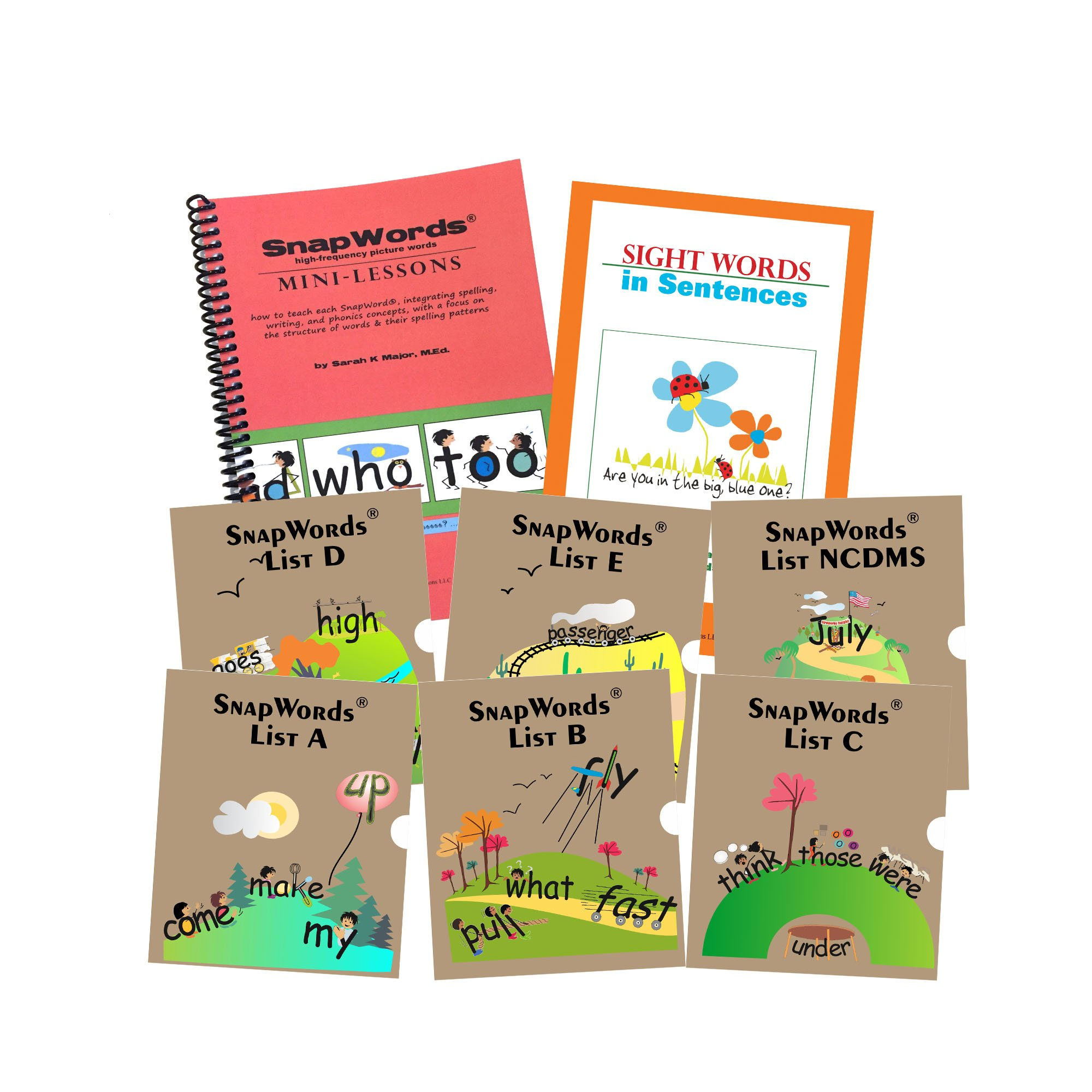 306 Snapwords Teaching Cards