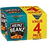 Heinz Baked Beans in Tomato Sauce, 4 x 130g