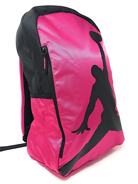 NIKE Air Jordan Illusion Hybrid Photo Real Backpack Sport Bookbag Gear Tote  Rucksack (Hyper Pink Power Black Logo)  Amazon.ca  Clothing   Accessories ee463f6d74410