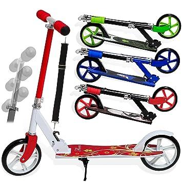 Kinderroller Scooter Roller Cityroller Klapproller Trittroller BigWheel 205mm