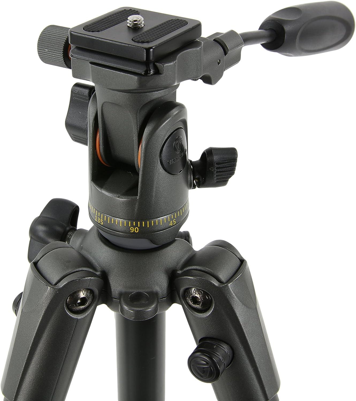 CSC Canon VANGUARD VEO 235AP Aluminum Travel Tripod with Pan Head for Sony Nikon Fujifilm Mirrorless Compact System Camera Spotting Scope