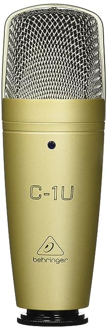 73 opinioni per Behringer C-1U Microfono professionale a Condensatore Cardiode USB