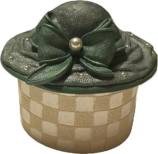 La colección de Chantilly moda sombrero caja figura decorativa ...
