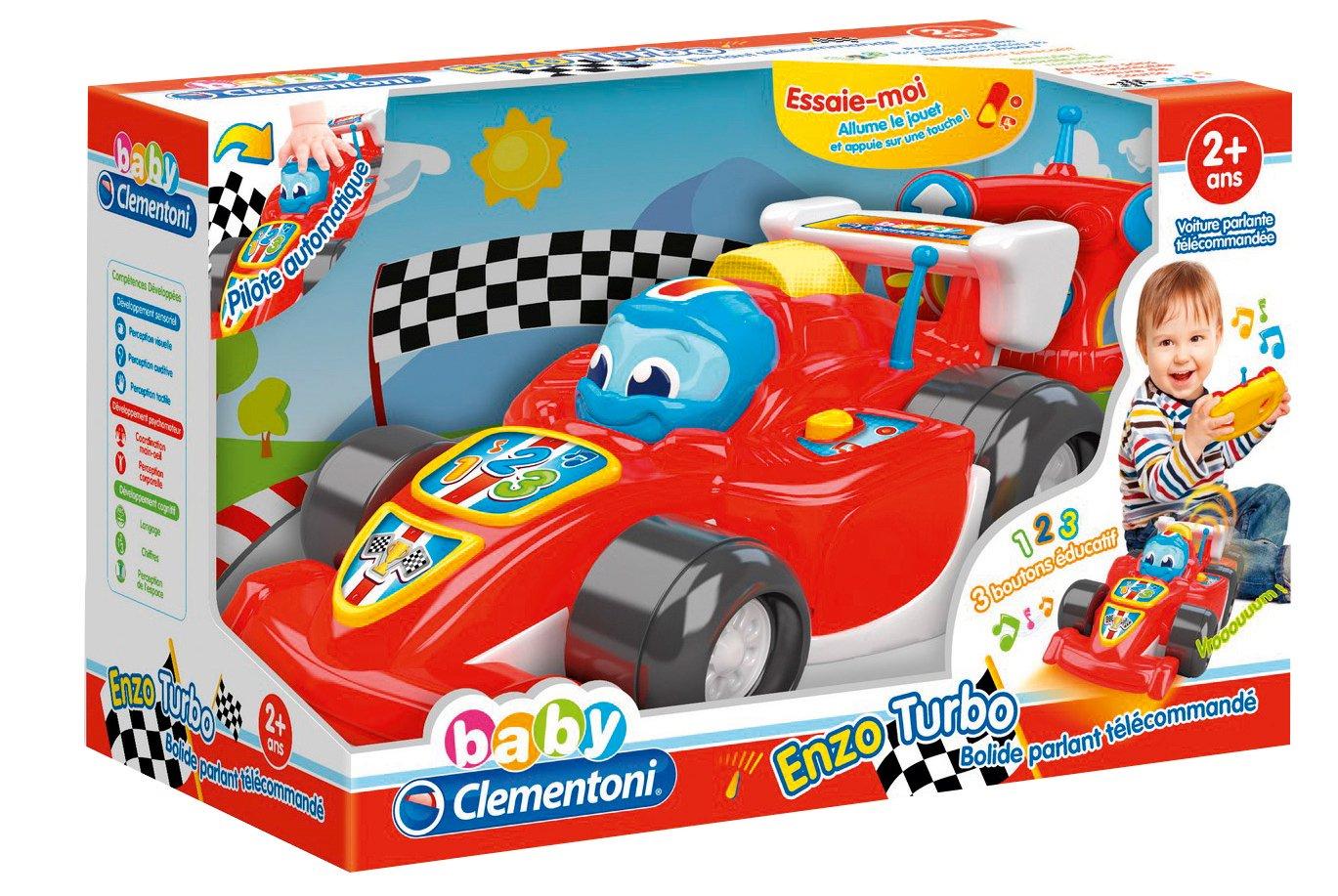 Clementoni Cochecito para bebes Enzo F1 Turbo (52105.0)