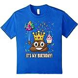 It's My Birthday Poop Emoji T-Shirt