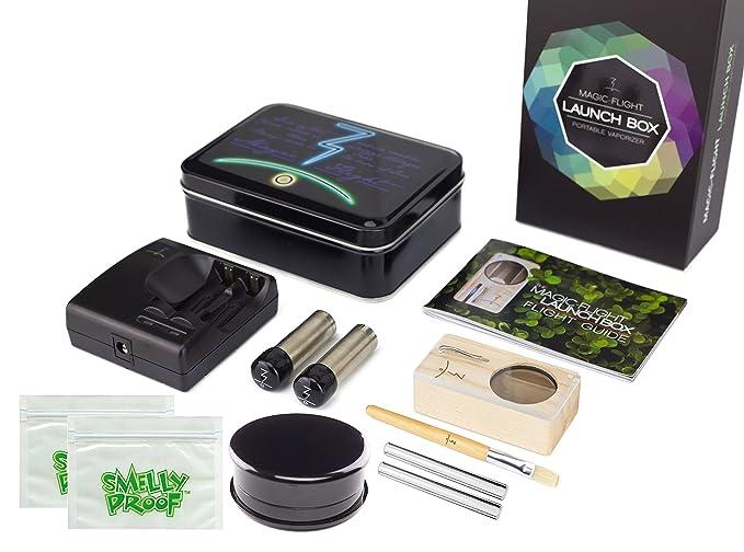 Magic Flight Launch Box Vaporizer Kit with Extra Stem