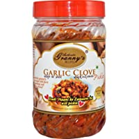 AUTHENTIC GRANNYS RECIPES Garlic Clove Pickle in Sesame Oil 500gms