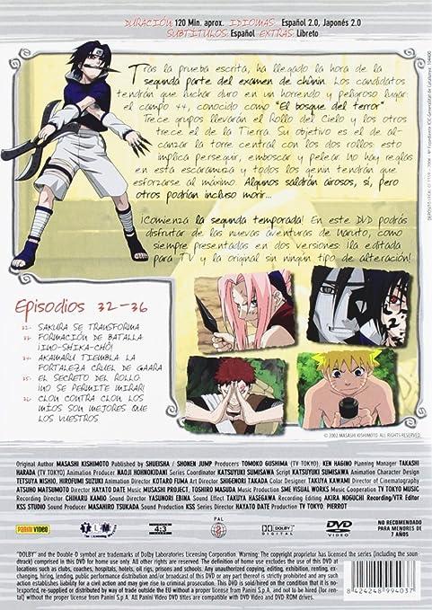 Naruto 8 [DVD]: Amazon.es: Hayato Date: Cine y Series TV