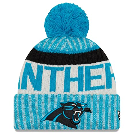 f8594ae5b Image Unavailable. Image not available for. Color  Carolina Panthers Knit  Beanie ...
