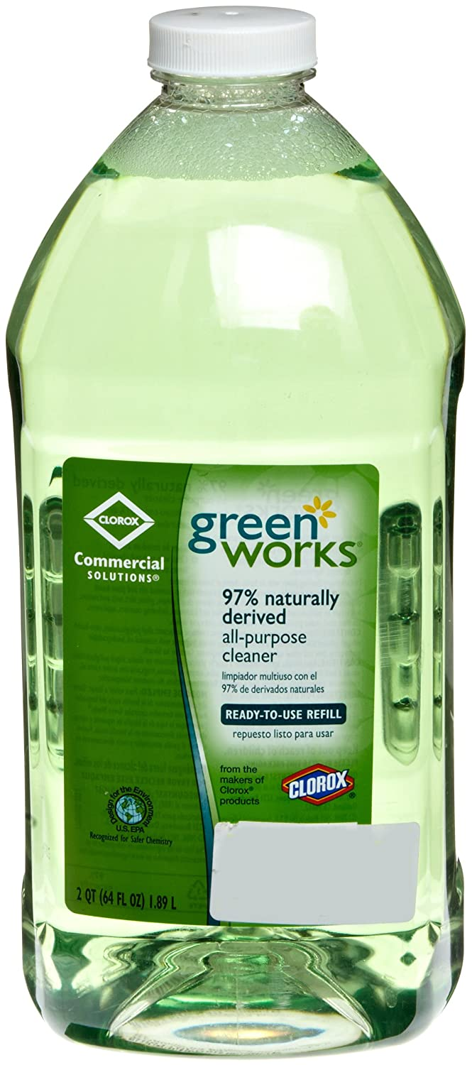 Green Works 00457 Commercial Solutions All Purpose Cleaner, 64 fl oz Refill Clorox 9420043