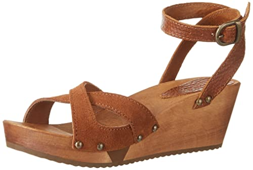 Sanita Thalia Wedge Flex Sandal amazon-shoes marroni Estate