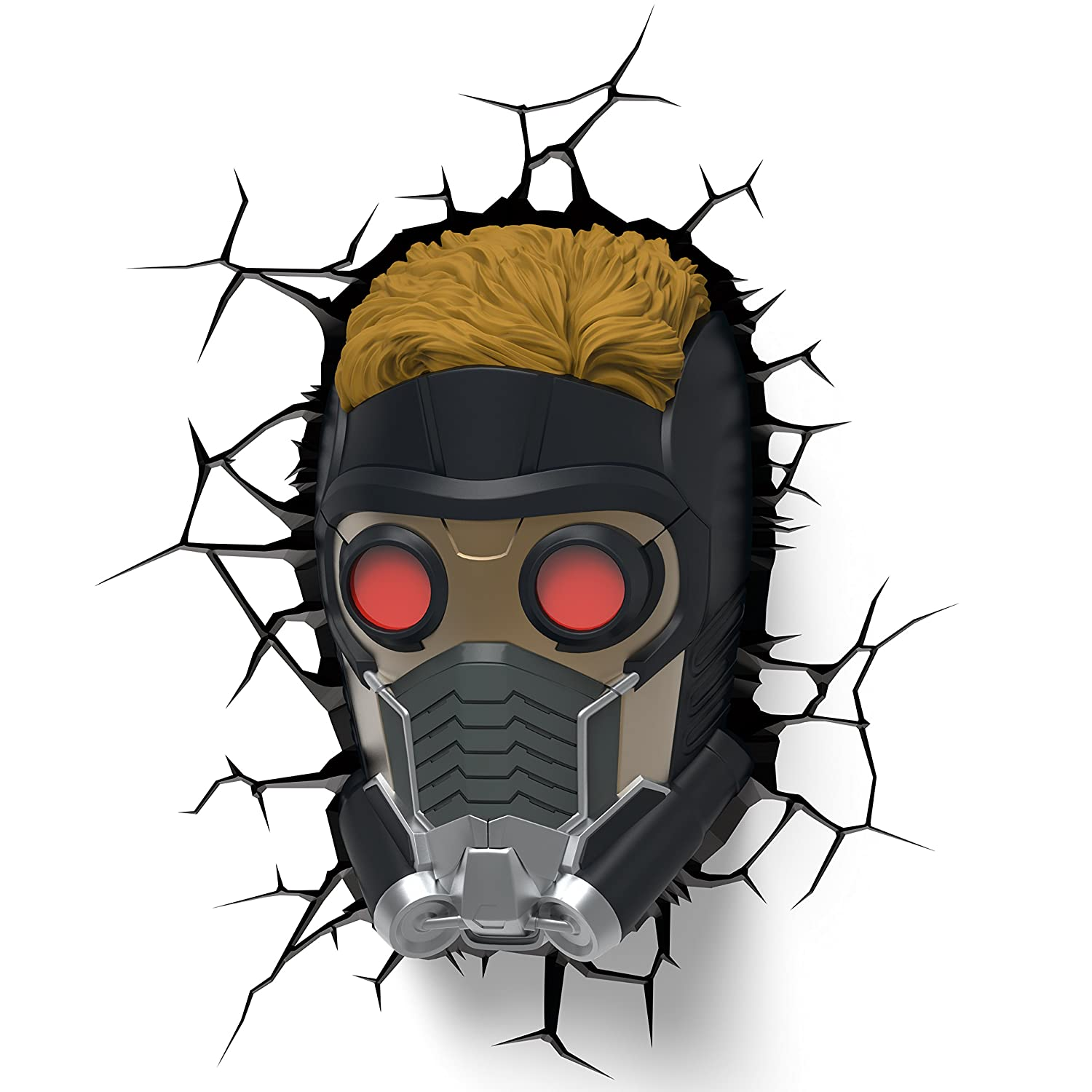 3DLightFX Marvel Guardians of the Galaxy Star Lord 3D Deco Light