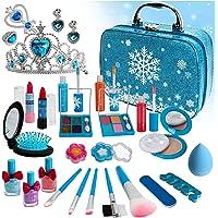 Senrokes Kids Makeup, Washable Kids Makeup Kit for Girls, Children Real Makeup Kit, Girls Makeup Birthday Toys Gift for…
