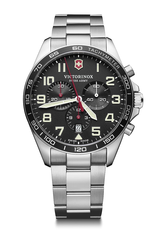 Victorinox Fieldforce Chrono in Black best Chronograph watch in India