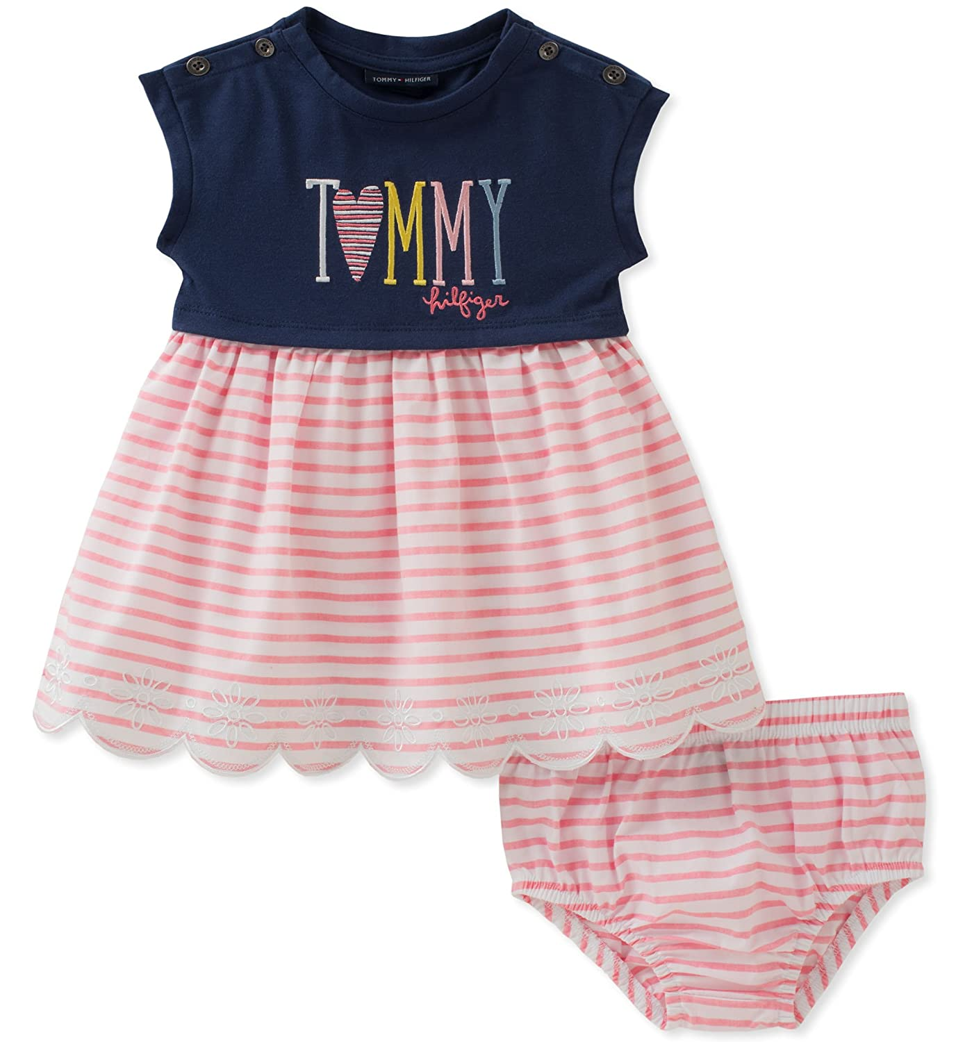 Tommy Hilfiger baby girls Baby Girls Dress With Panty Amazon