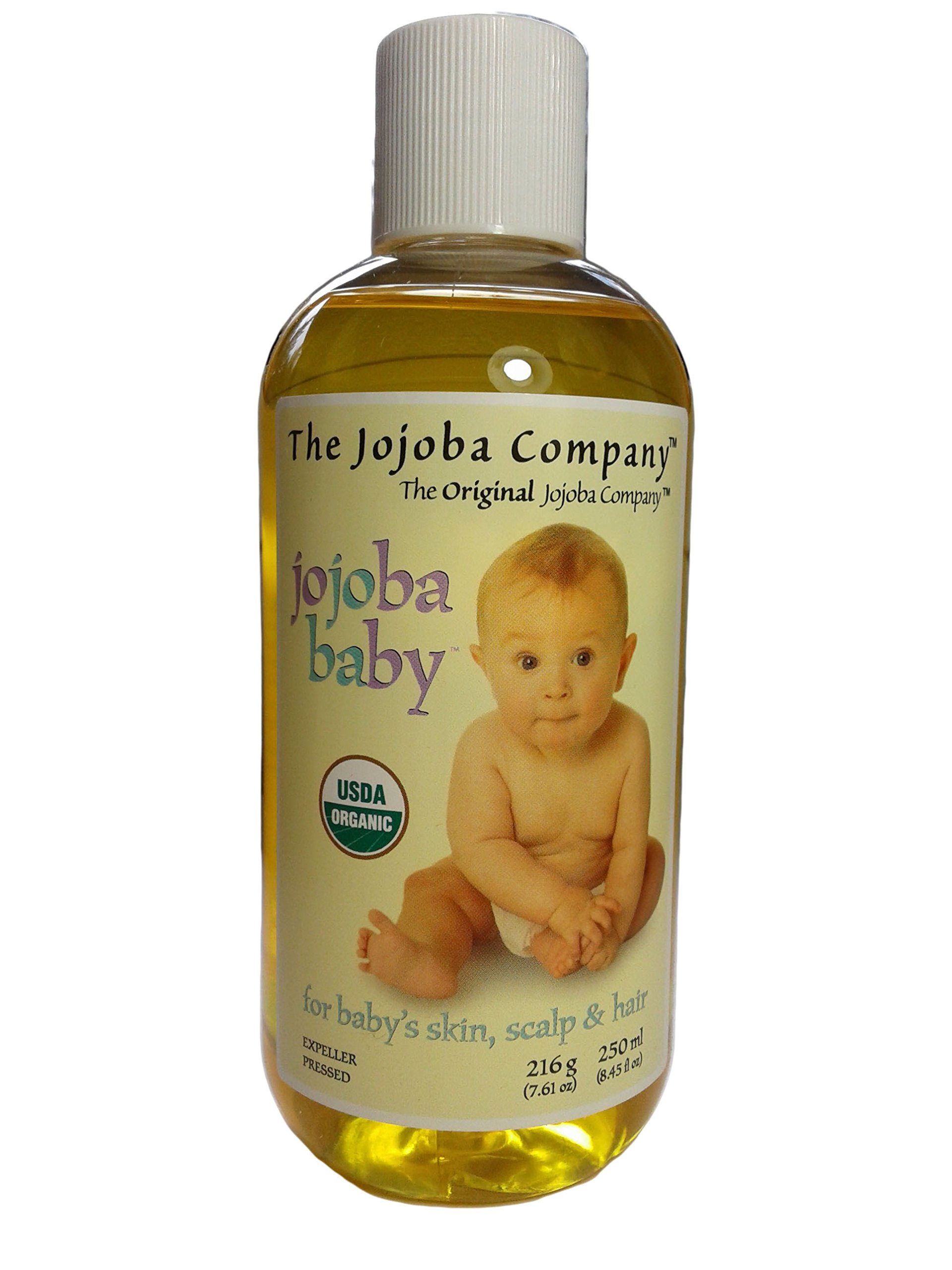 250ml USDA Certified 100% Organic Jojoba Baby from The Jojoba Company