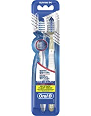 Oral-B Pro-Health All-in-One Manual Toothbrush, 2 Count, 40 Soft