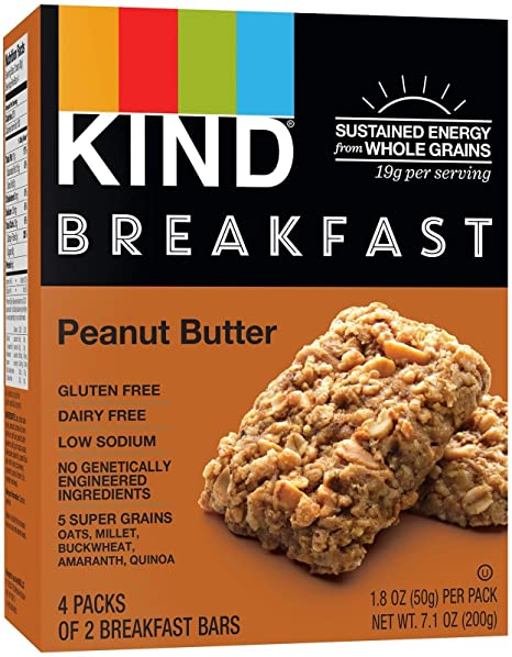Kind, Breakfast Bars, Peanut Butter (4 Pack)