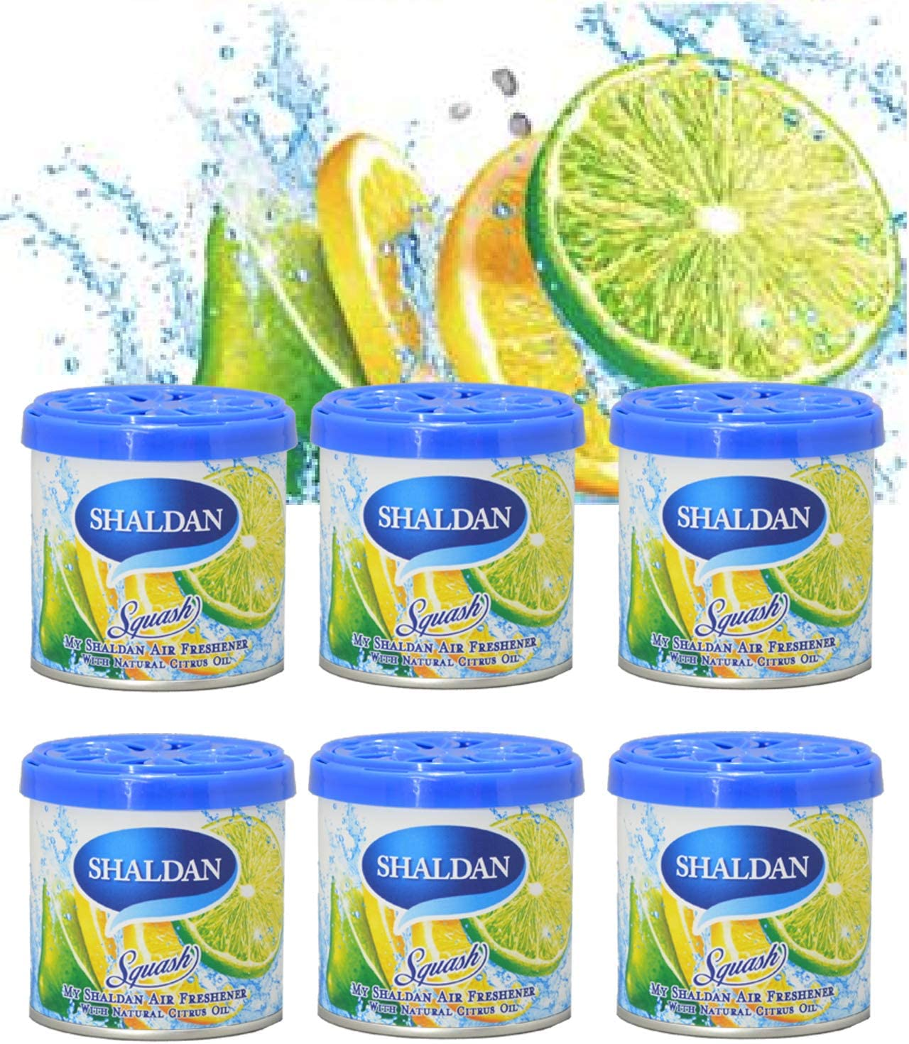 My Shaldan Air Freshener Squash Scent (D41SQ) - QTY. 6 Cans by MY SHALDAN CLASSIC AIR FRESHENER