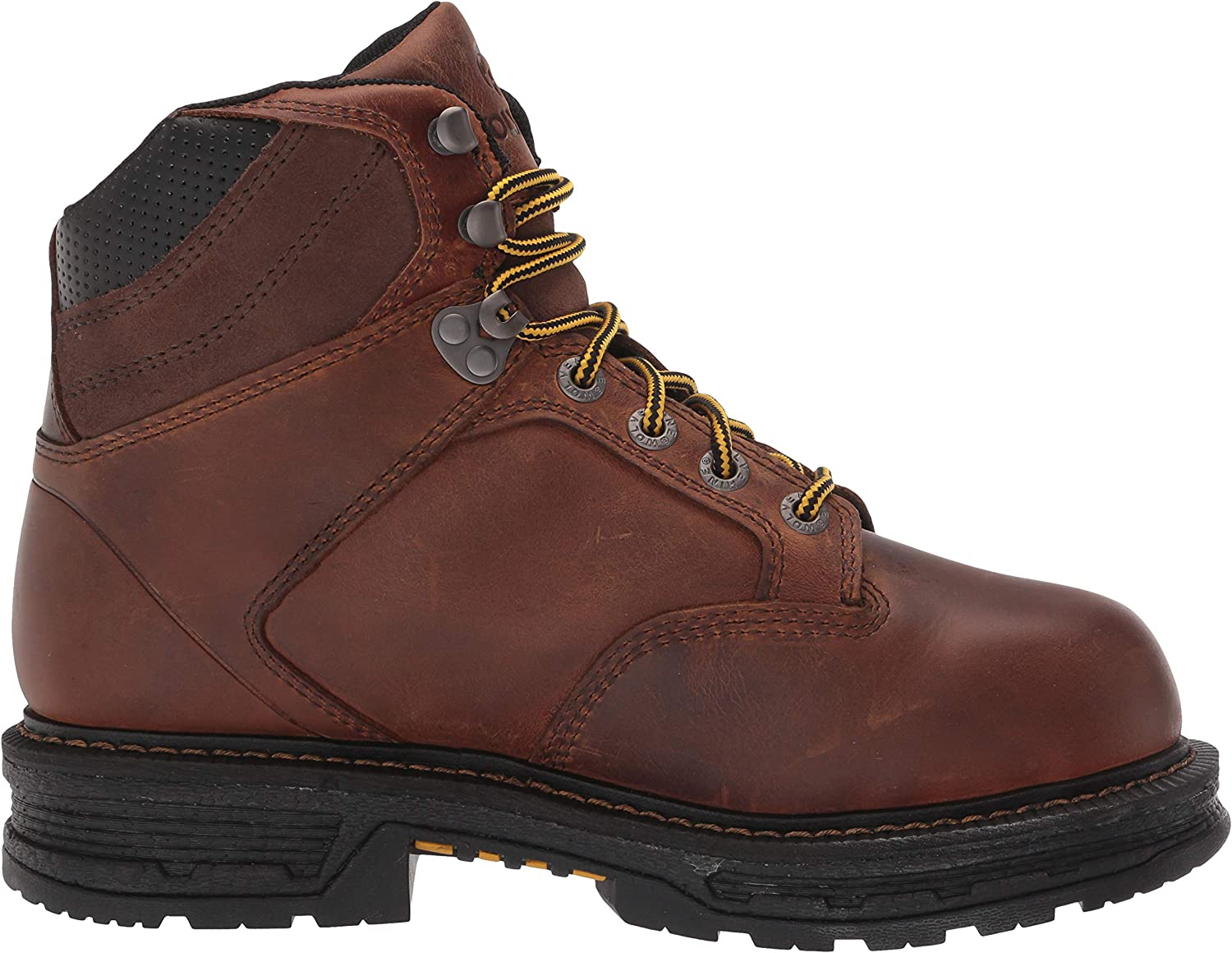 Wolverine Mens Hellcat 6 Construction Boot 10.5 X-Wide Tobacco
