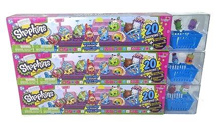 Wonderful 60 Shopkins Season 1 Ultimate Mega Pack Collectors Bundle 3 X 20 Packs