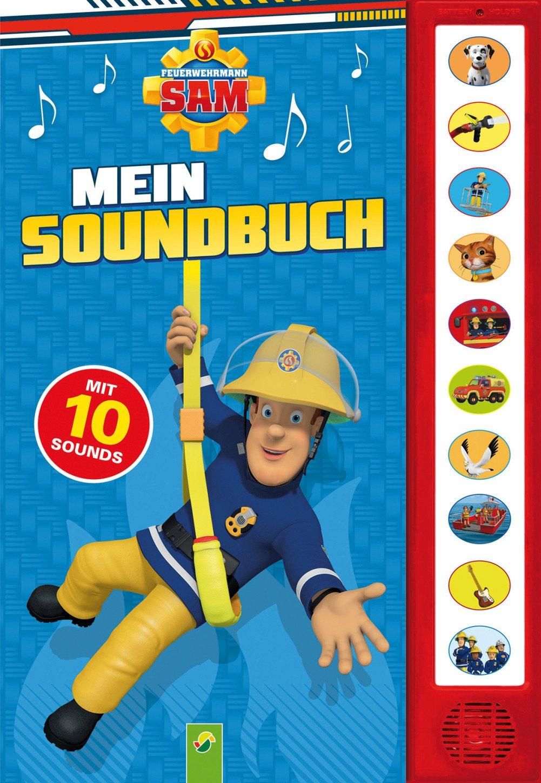 Mein Soundbuch Feuerwehrmann Sam: Mit 10 Sounds