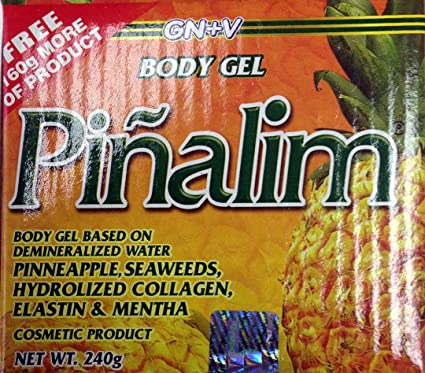 Amazon.com : Cosmetic Body Gel Pinalife, Gel Cosmetico Pinalim, Piñalim, 8.46 Oz. GN+VIDA : Weight Loss Supplements : Beauty