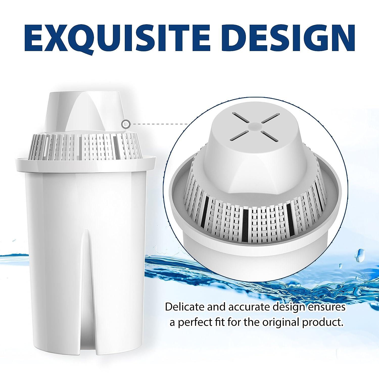 Mavea 107007/brocca AquaCrest 10/pezzi classico di ricambio per filtro dell acqua Brita Classic