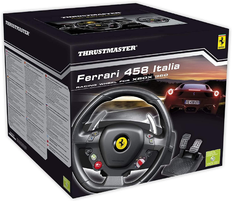 Thrustmaster FERRARI 458 ITALIA - Volante: Thrustmaster: Amazon.es ...