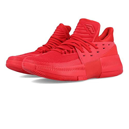 adidas Dame 3 Basketball Shoes - 10 Red  Amazon.co.uk  Shoes   Bags cc57c48cc