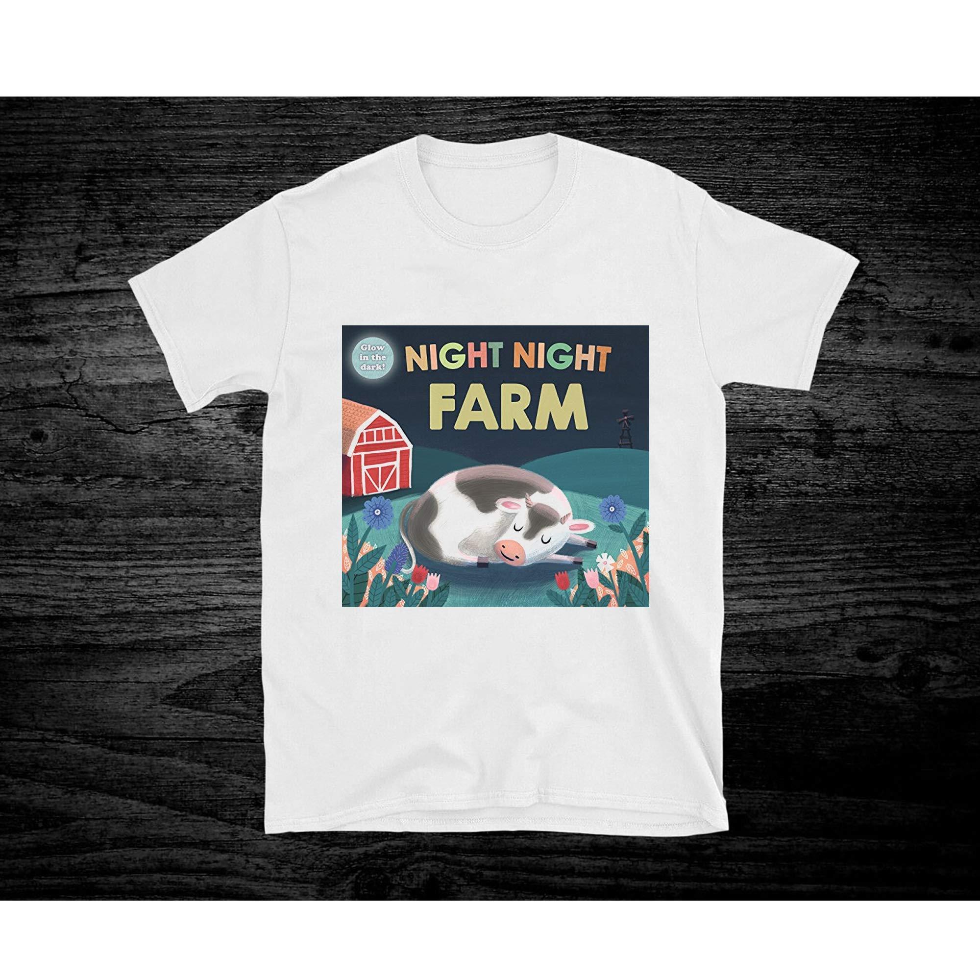 Night Night Farm For Unisex Shirts