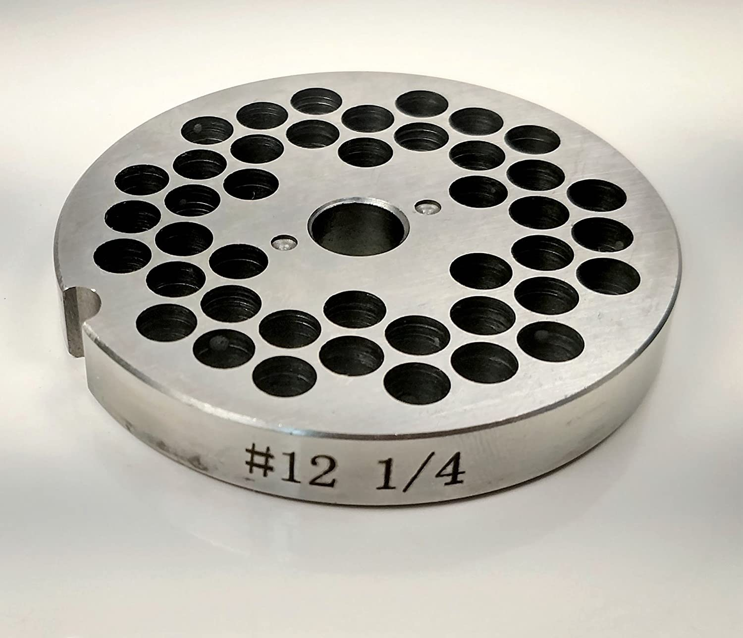 Food Service Knives #12 Meat Grinder Plate (1/4 in.)