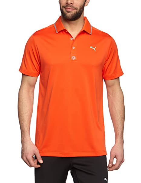 PUMA - Polo de Golf para Hombre, tamaño XXL, Color Cereza: Amazon ...