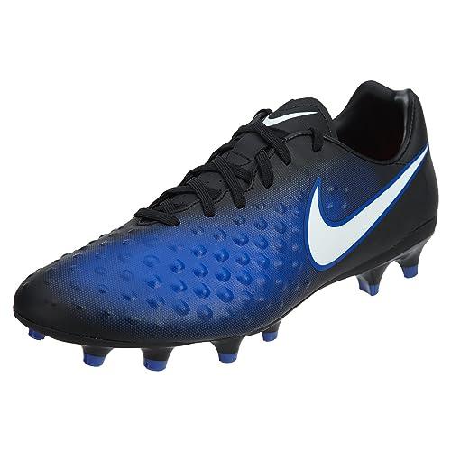 san francisco 37bb2 559b0 Scarpe da calcio Nike Magista Onda FG nere  bianche  Paramount blu - 9A